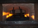 Нагревательная печь с горелками МДГГ-40 (0,5 МВт)