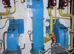 Газовые горелки МДГГ-400 на котле ПТВМ-30