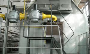 Горелка газовая МДГГ-2500Б (35 МВт) на котле КВГМ-50