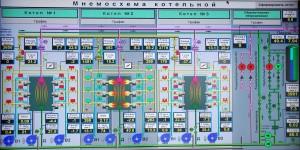 Система автоматического управления котла ПТВМ-30