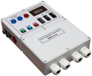 при використанні контрольних електродів (іонодатчиків) для забезпечення необхідної чутливості напруга живлення повинна бути не менше 180 Вольт